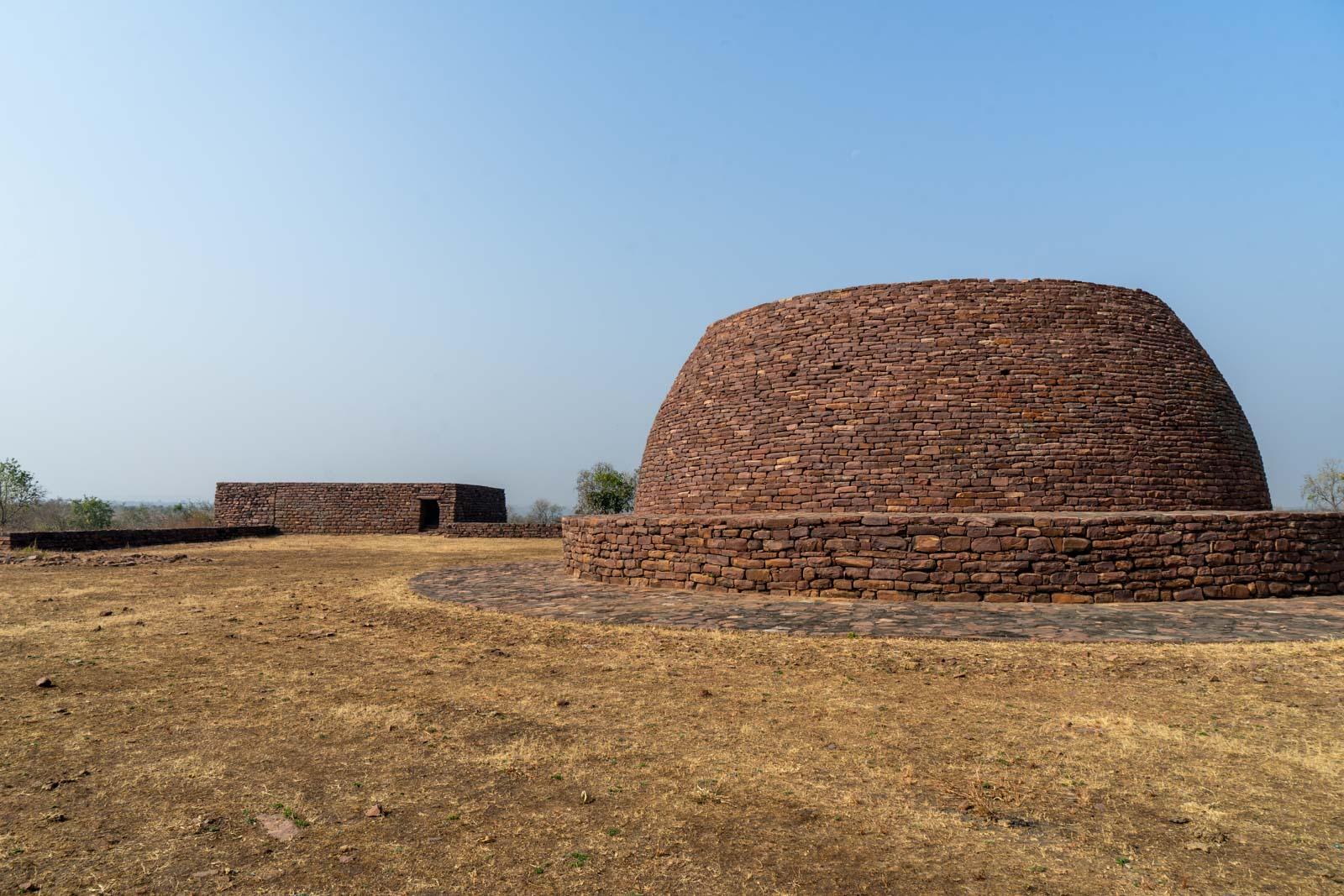Sonari Stupa, Sanchi, India