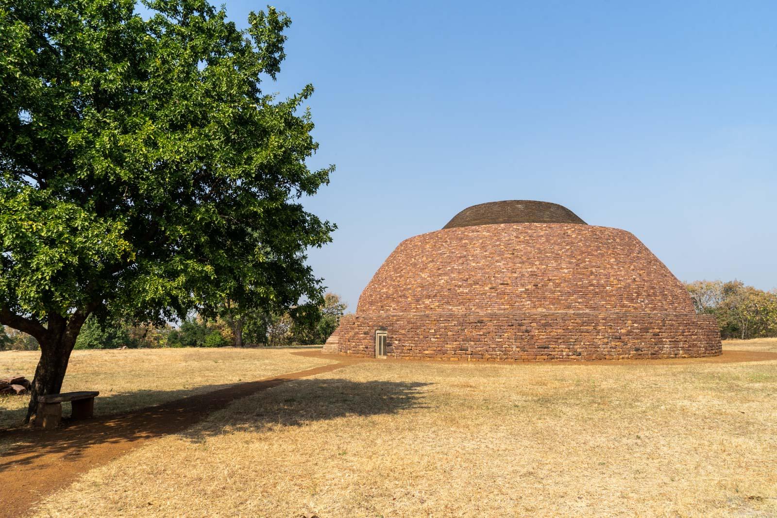 Satdhara Stupa, Sanchi, India