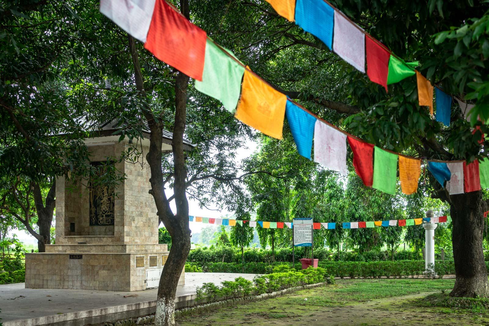 Ramagrama Stupa, Lumbini, Nepal