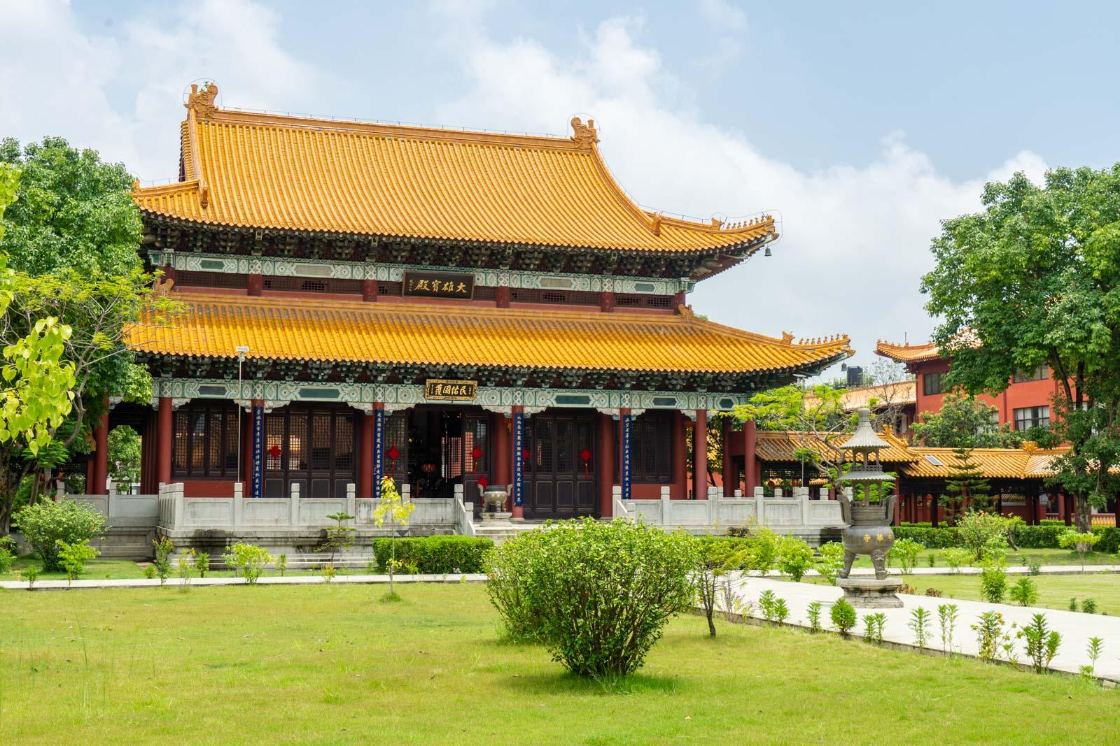 Chinese Monastery, Lumbini, Nepal