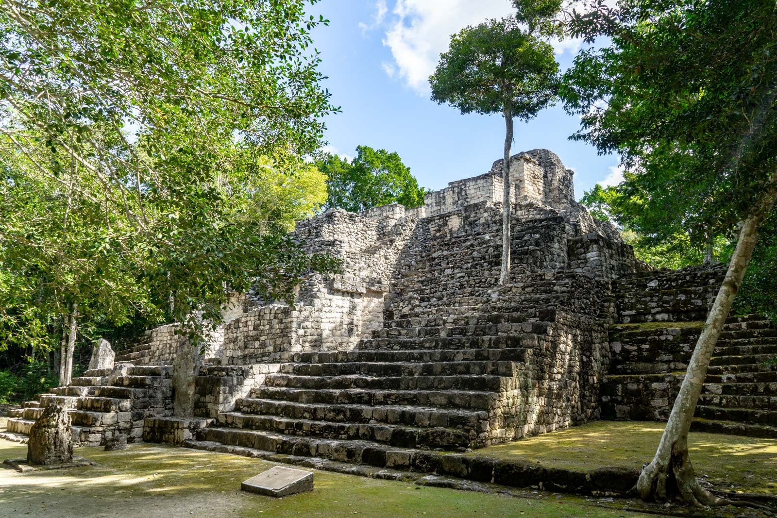 Mayan ruins of Calakmul, Mexico