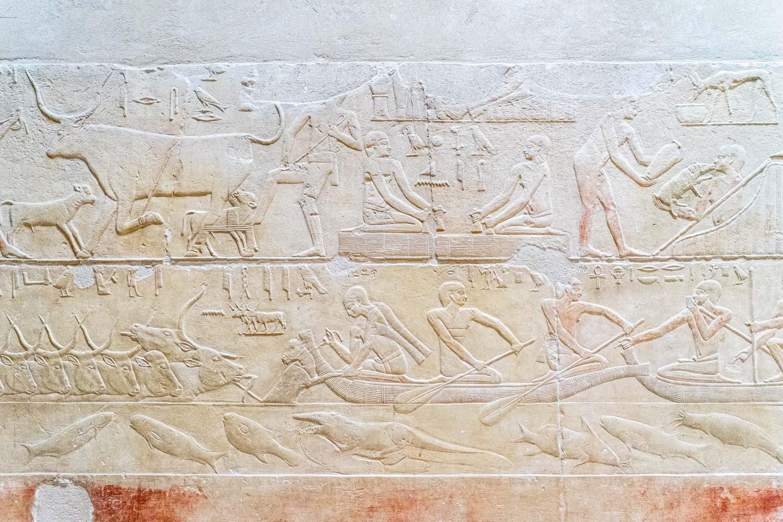 Tomb of Kagemni, Saqqara, Egypt