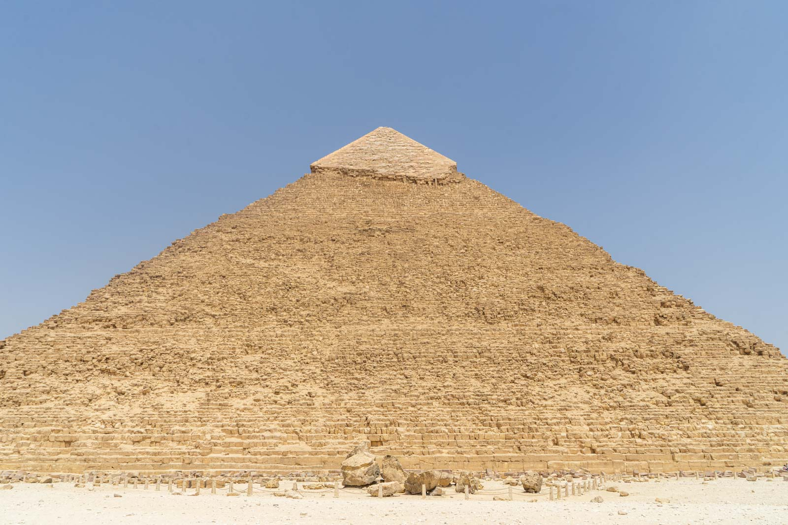 Visiting the Pyramids of Giza, Egypt