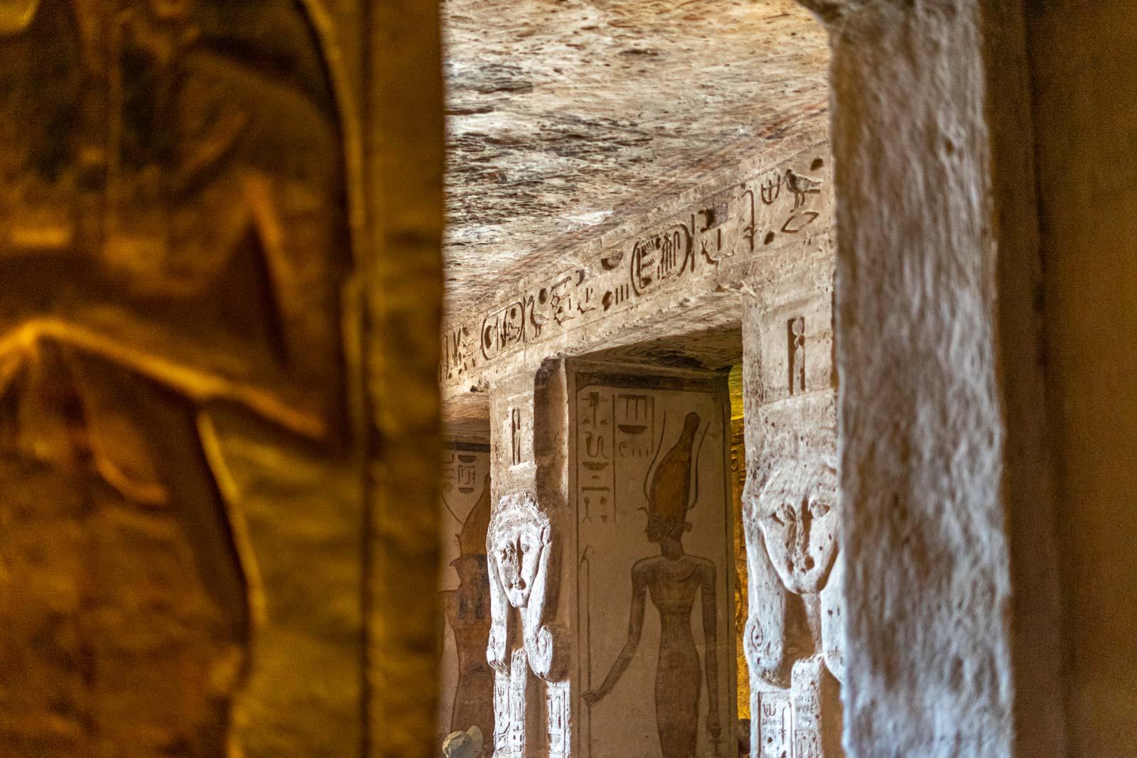 Temples at Abu Simbel, Egypt