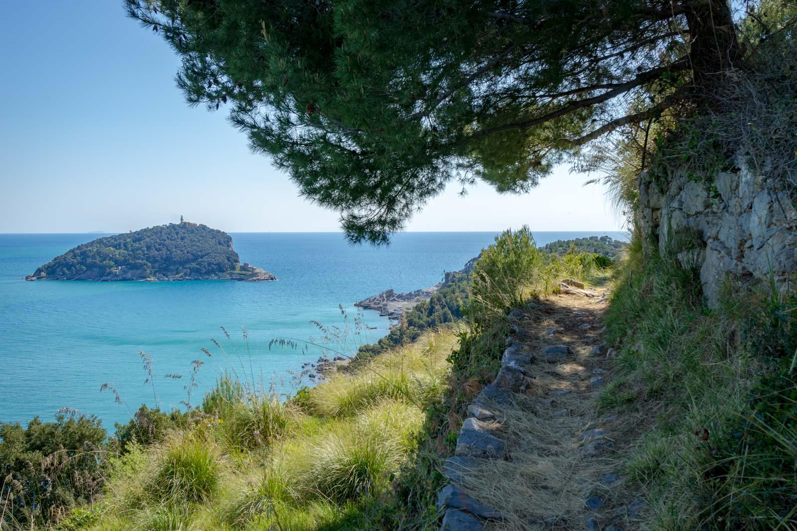 Portovenere and Palmaria Island, Cinque Terre, Itlay