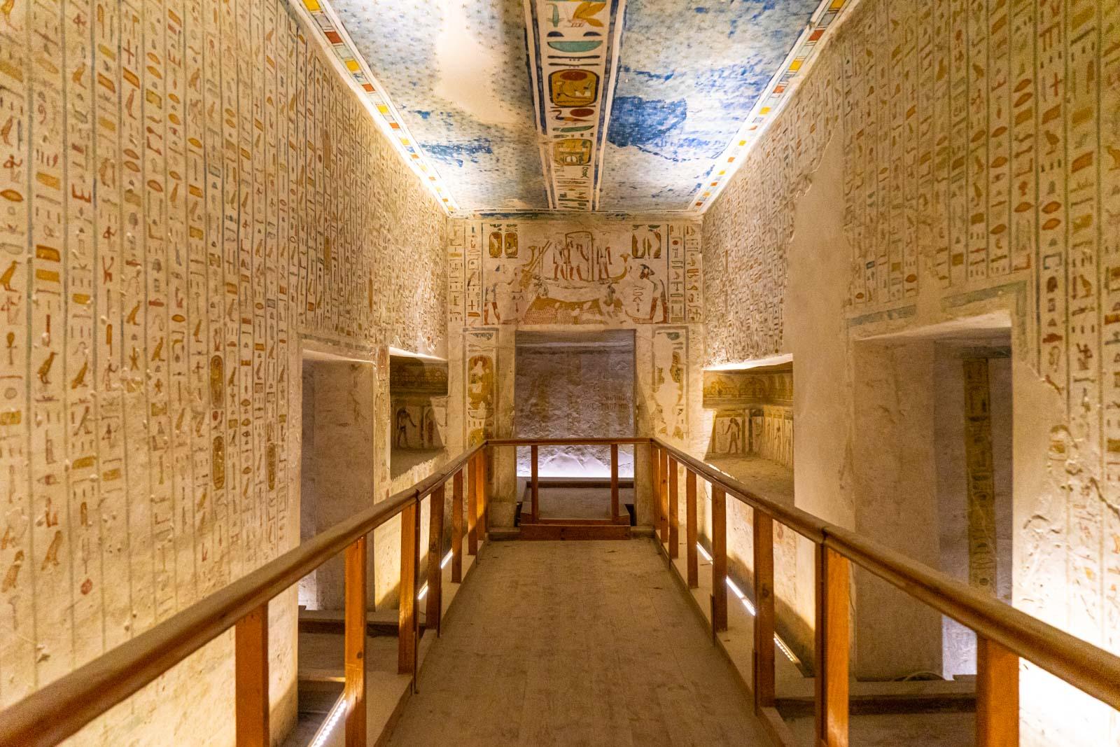 Tomb of Ramses IV (KV2), Valley of the Kings, Egypt