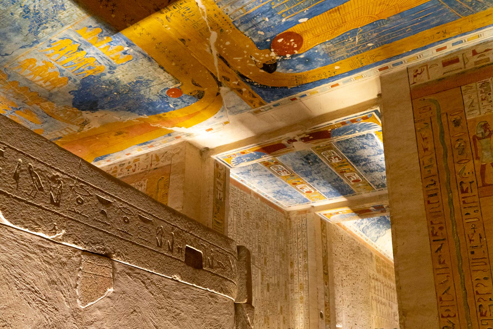 Tomb of Ramses IV (KV2), Valley of the Kings, Egypt