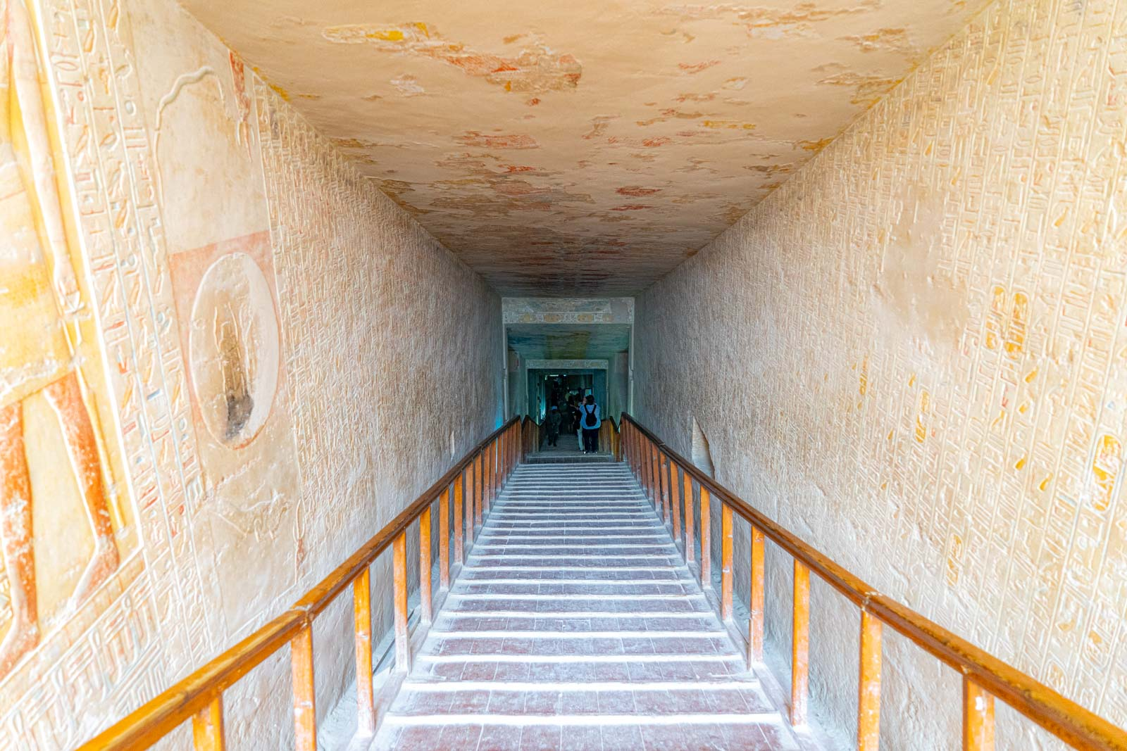 Best tombs in the Valley of the Kings, Egypt