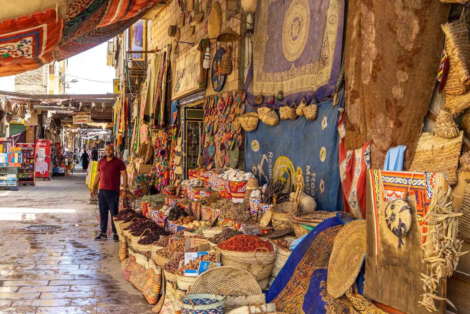 Tourist Bazaar, Aswan, Egypt