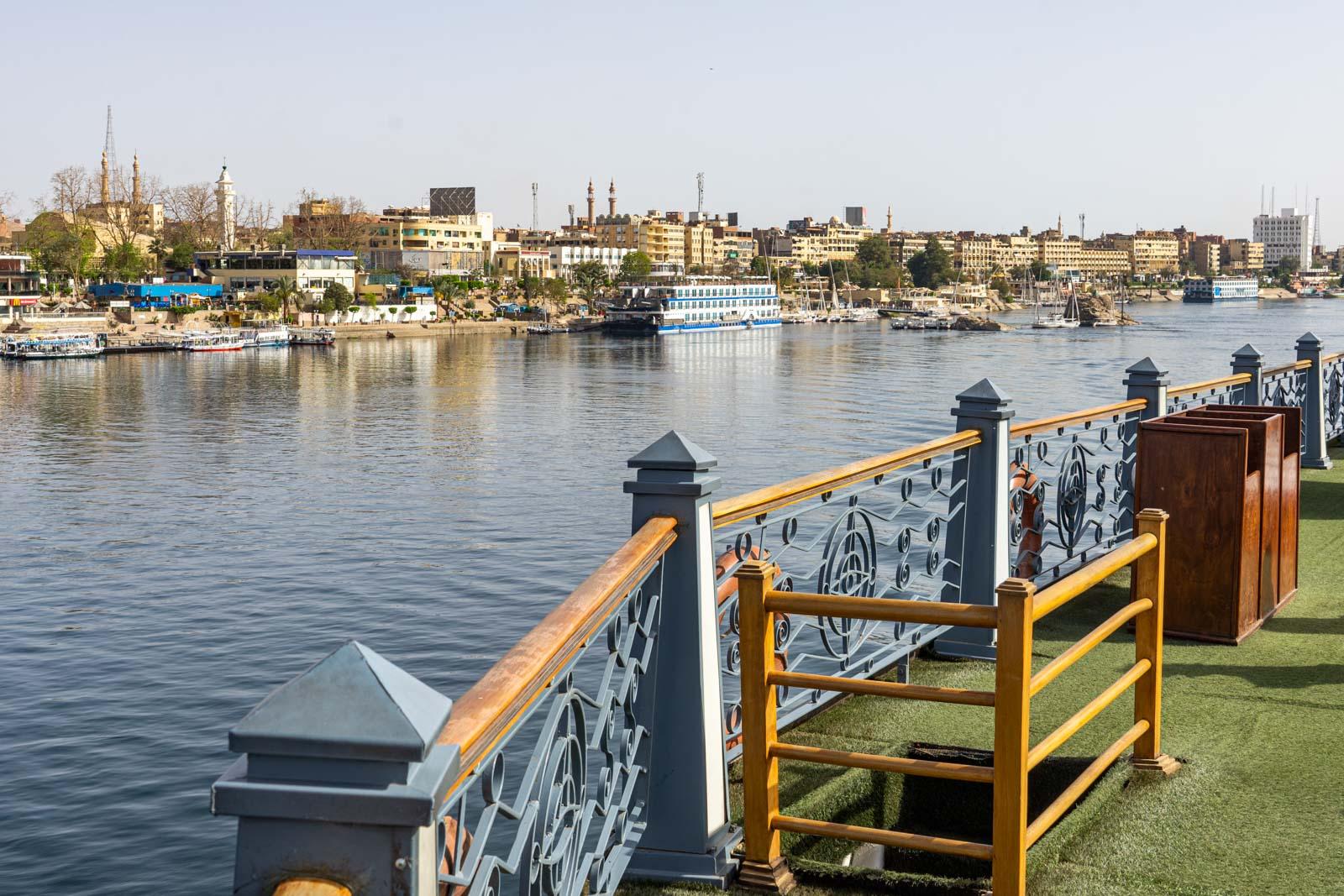 Nile cruise, Aswan, Egypt