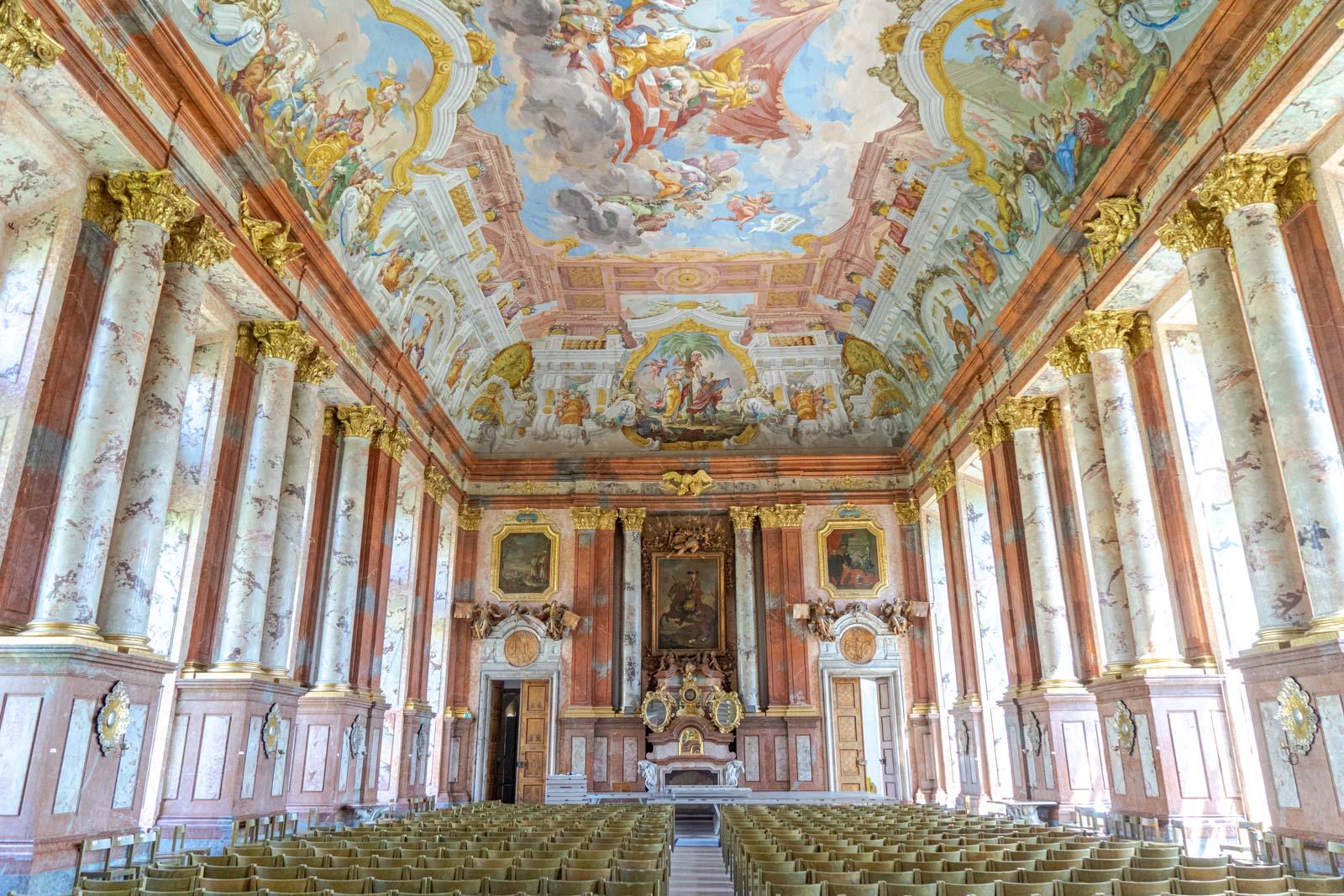 St Florian Monastery Imperial Hall, Austria
