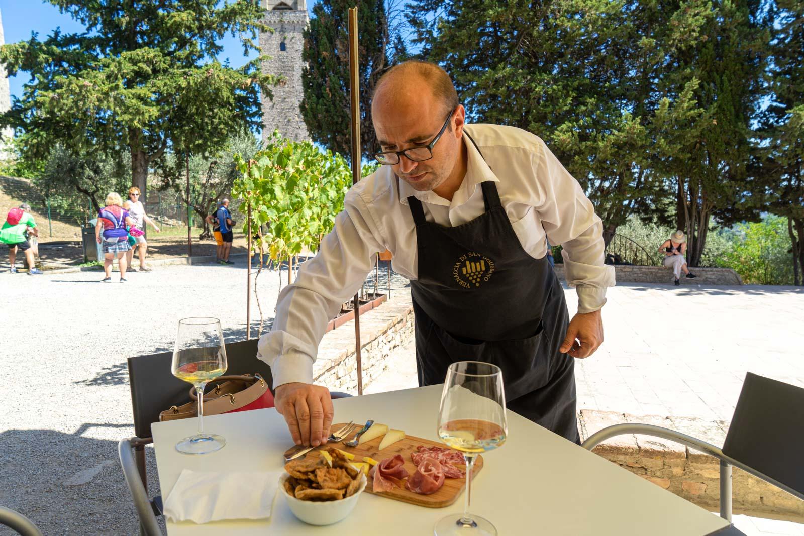 Vernaccia di San Gimignano Wine Experience