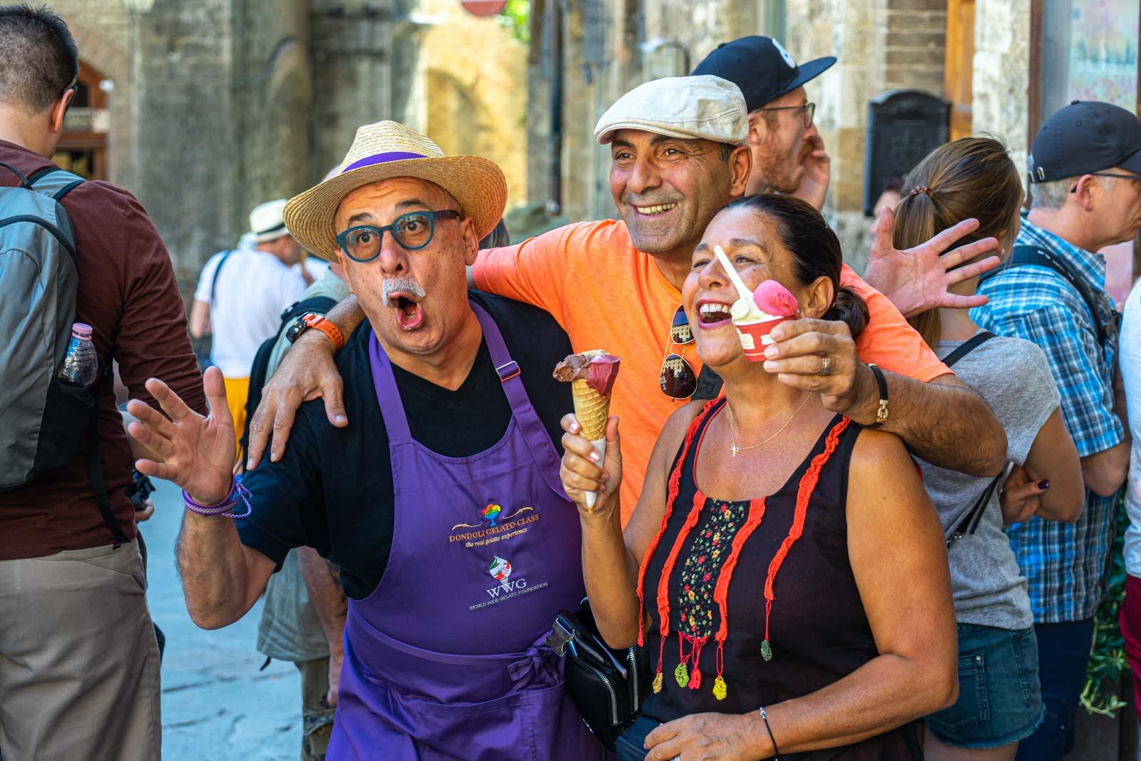 Gelateria Dondoli, San Gimignano