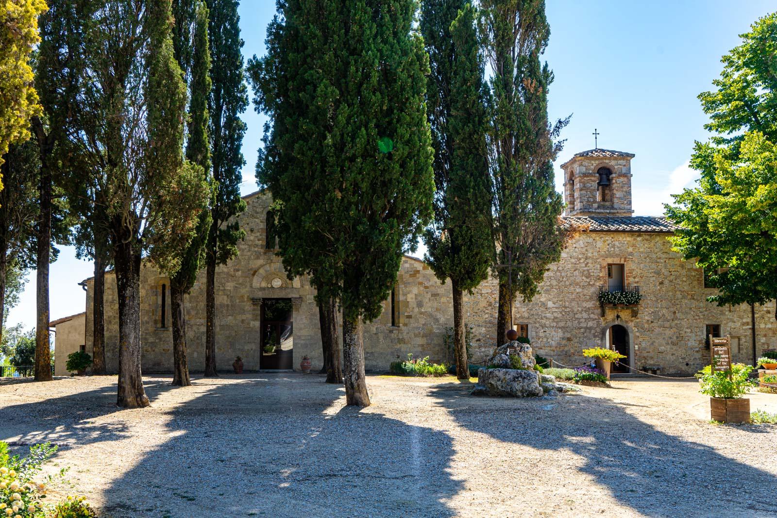 Monastery of Bose, near San Gimignano