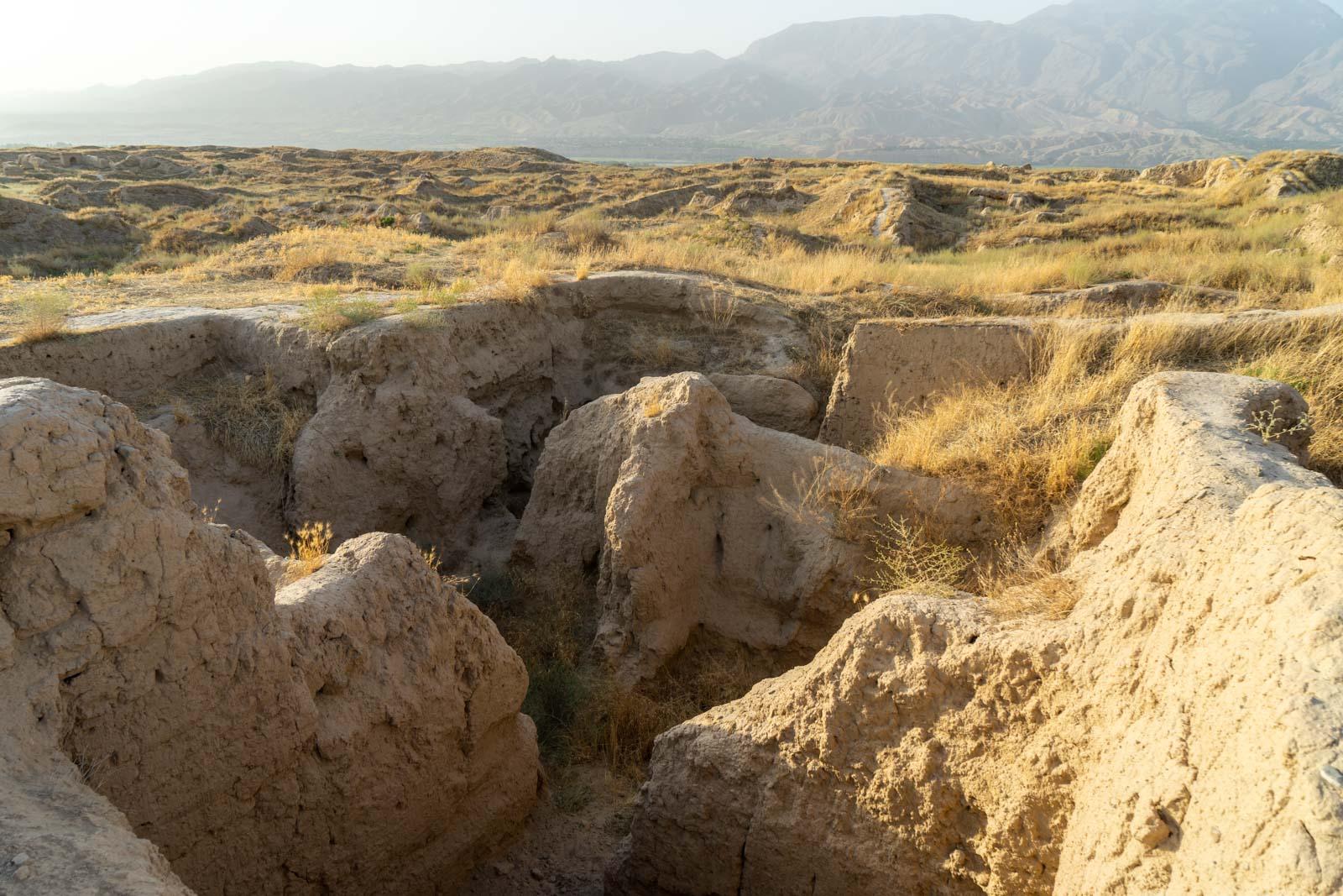 Penjikent Ancient City, Tajikistan
