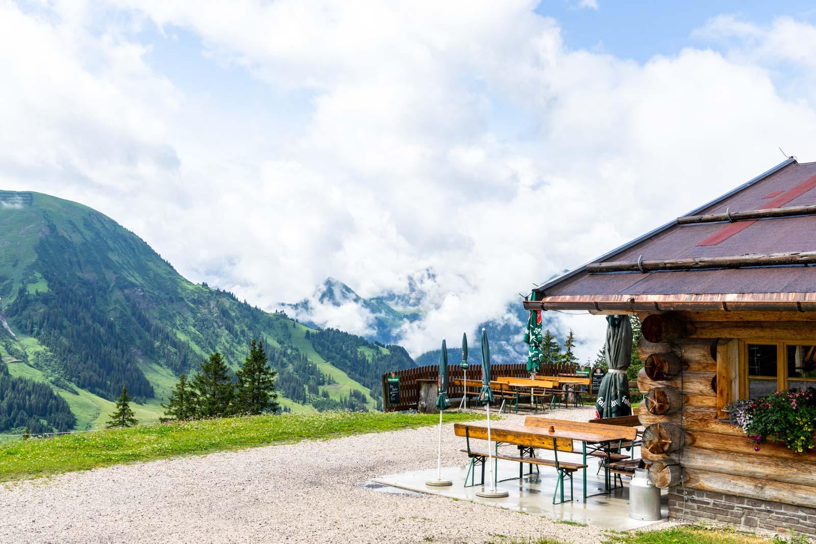 Heiterwanger Hochalm, Tirol, Austria