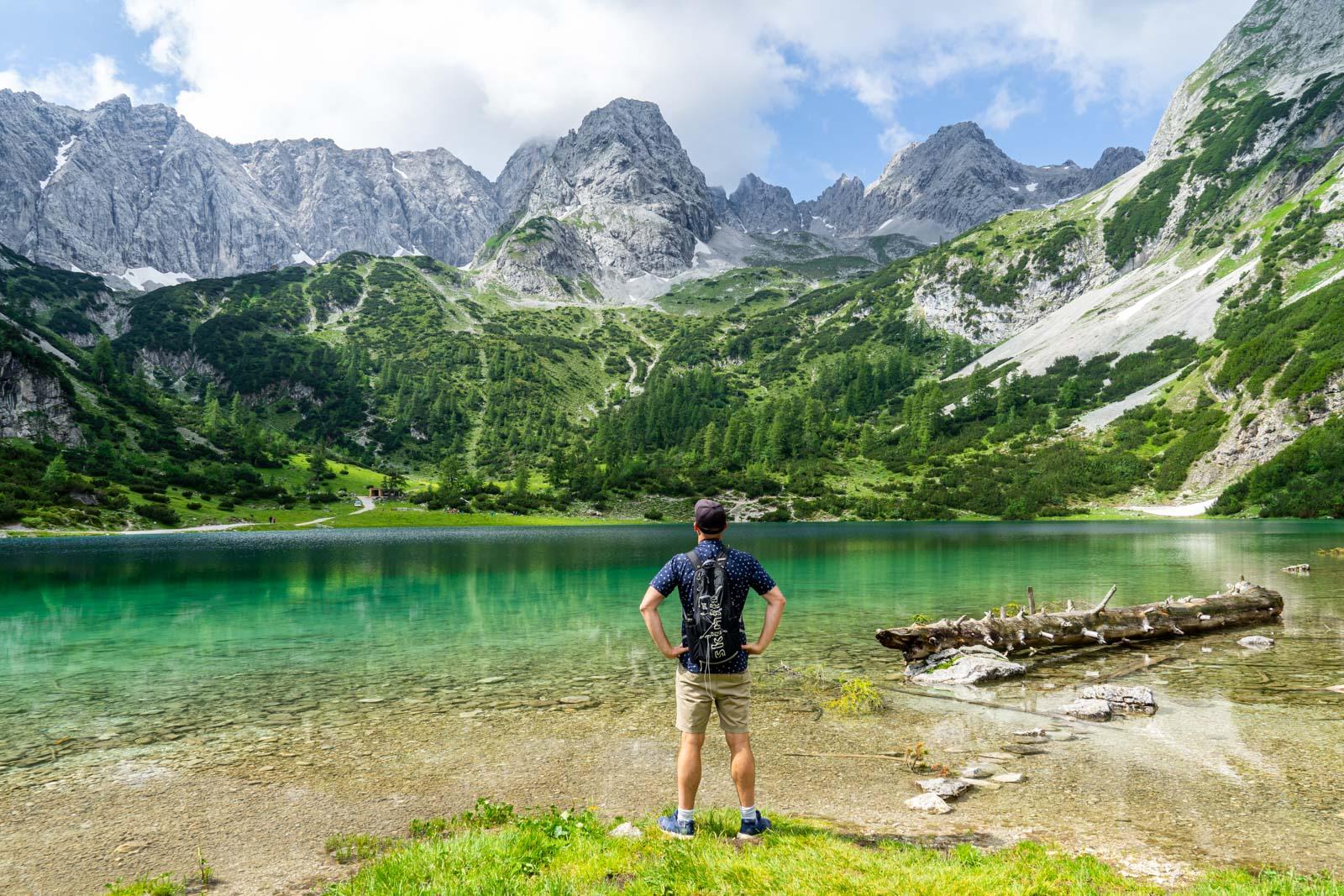 Seebensee Lake, Tirol, Austria