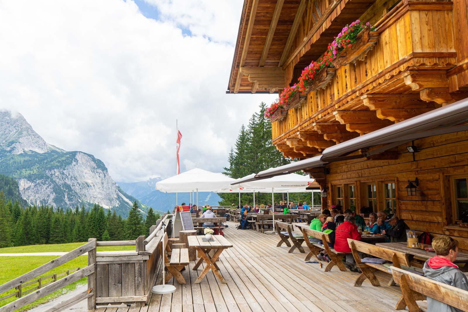 Ehrwalder Almbahn, Tirol, Austria
