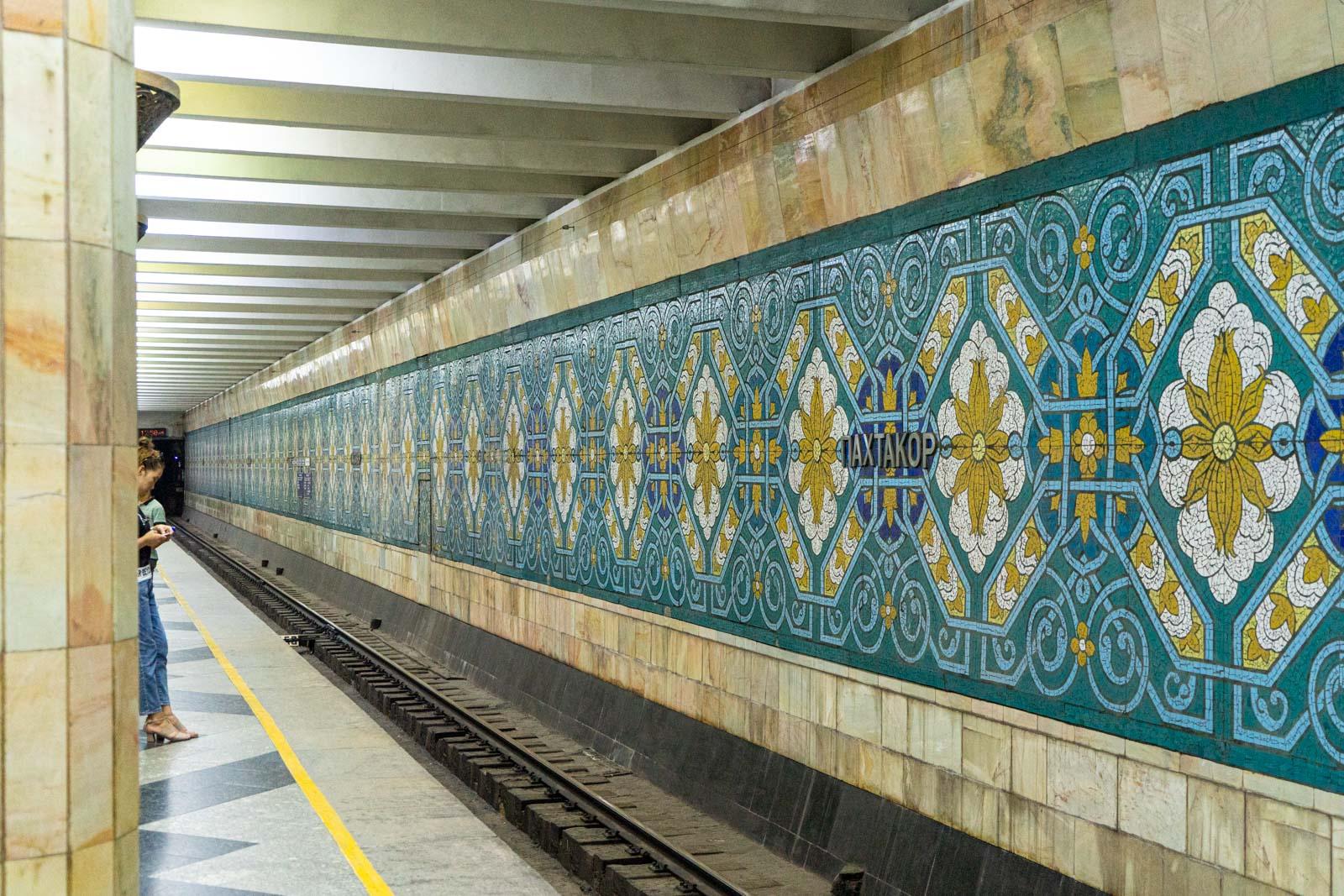 Tashkent Metro stations, Uzbekistan
