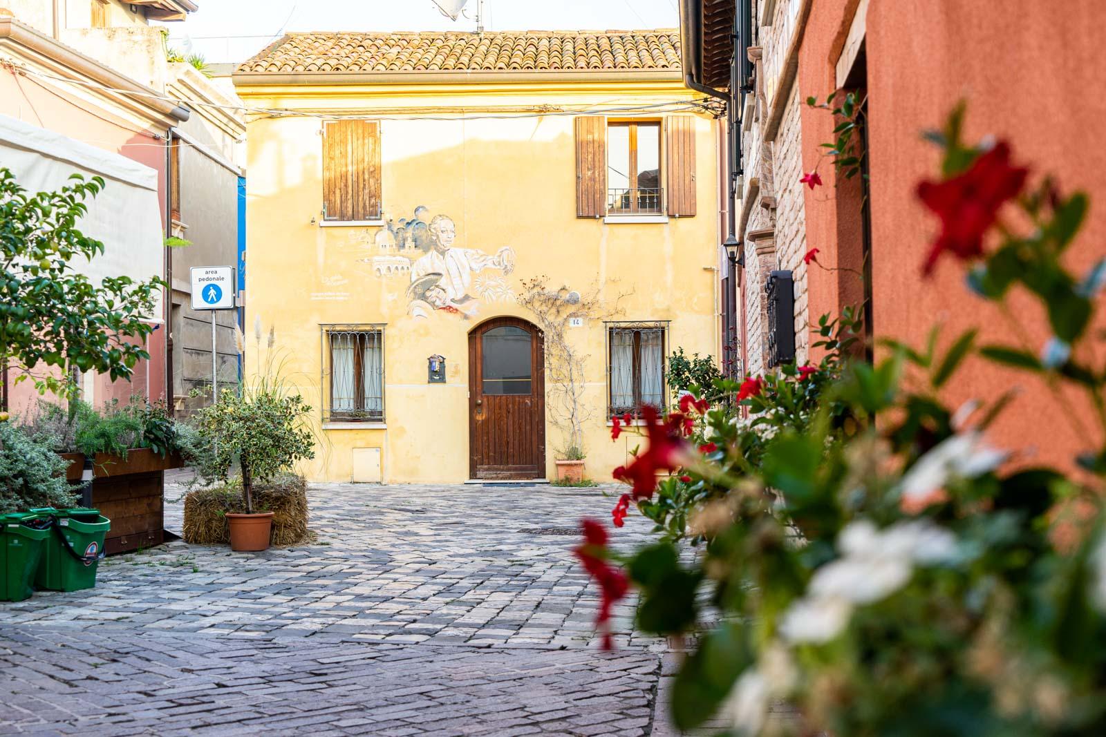 Borgo San Giuliano, Rimini, Italy