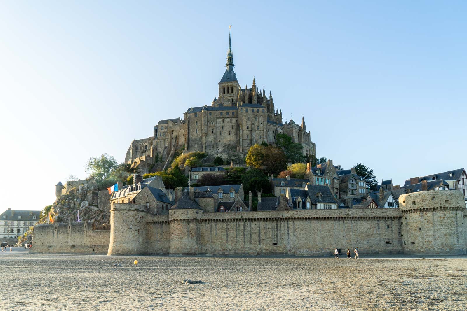 Visiting Mont Saint Michel, France