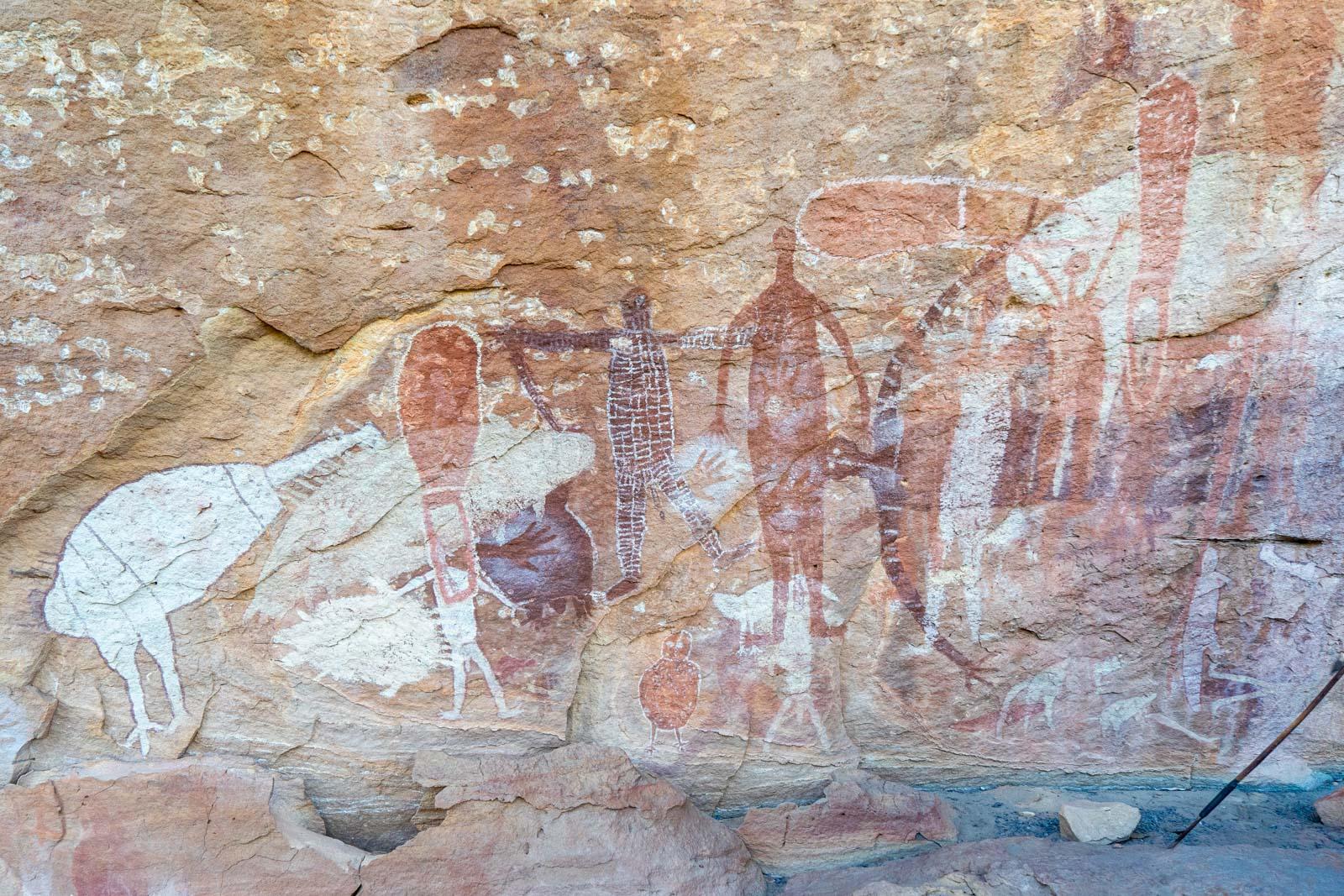 Quinkan Rock Art, Laura, Queensland