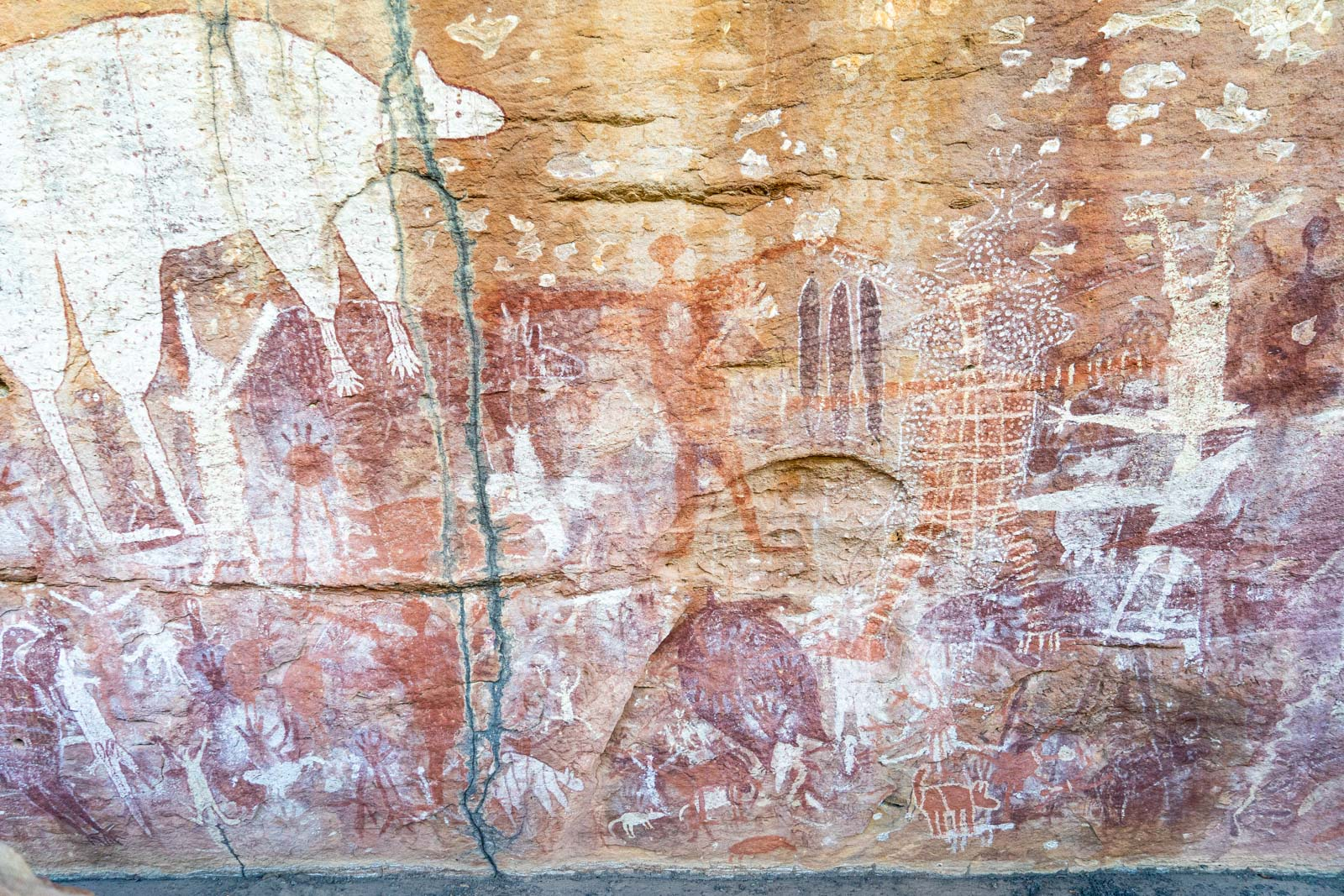 Quinkan Rock Art, Laura, Queensland