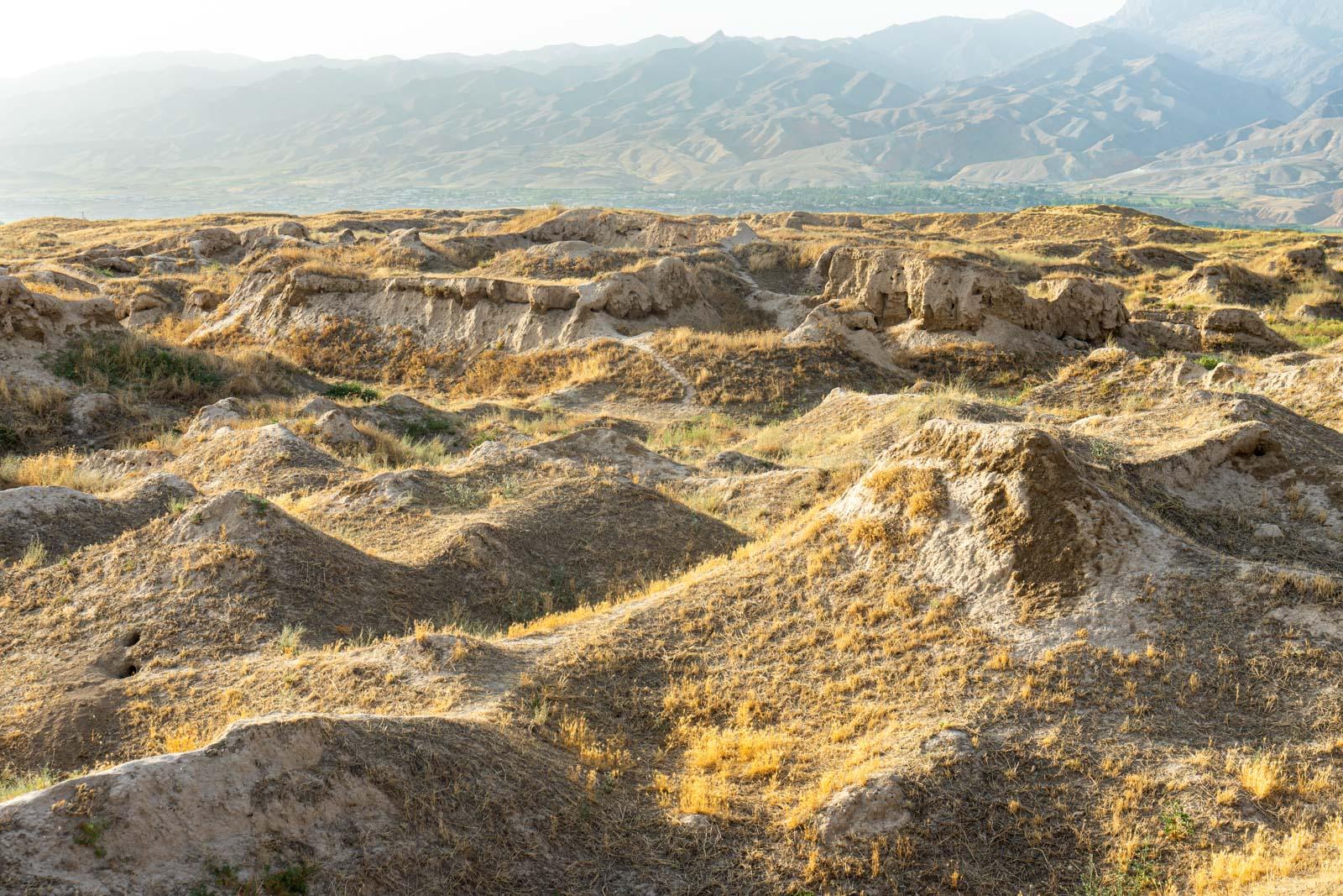 Ruins of Ancient Panjakent, Tajikistan