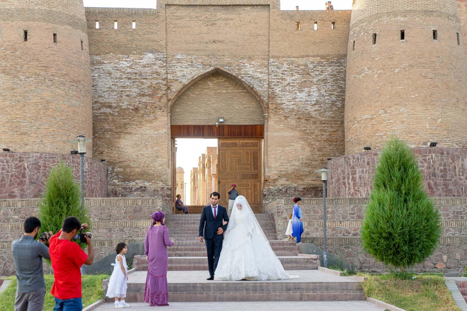 Hisor Fortress from Dushanbe, Tajikistan