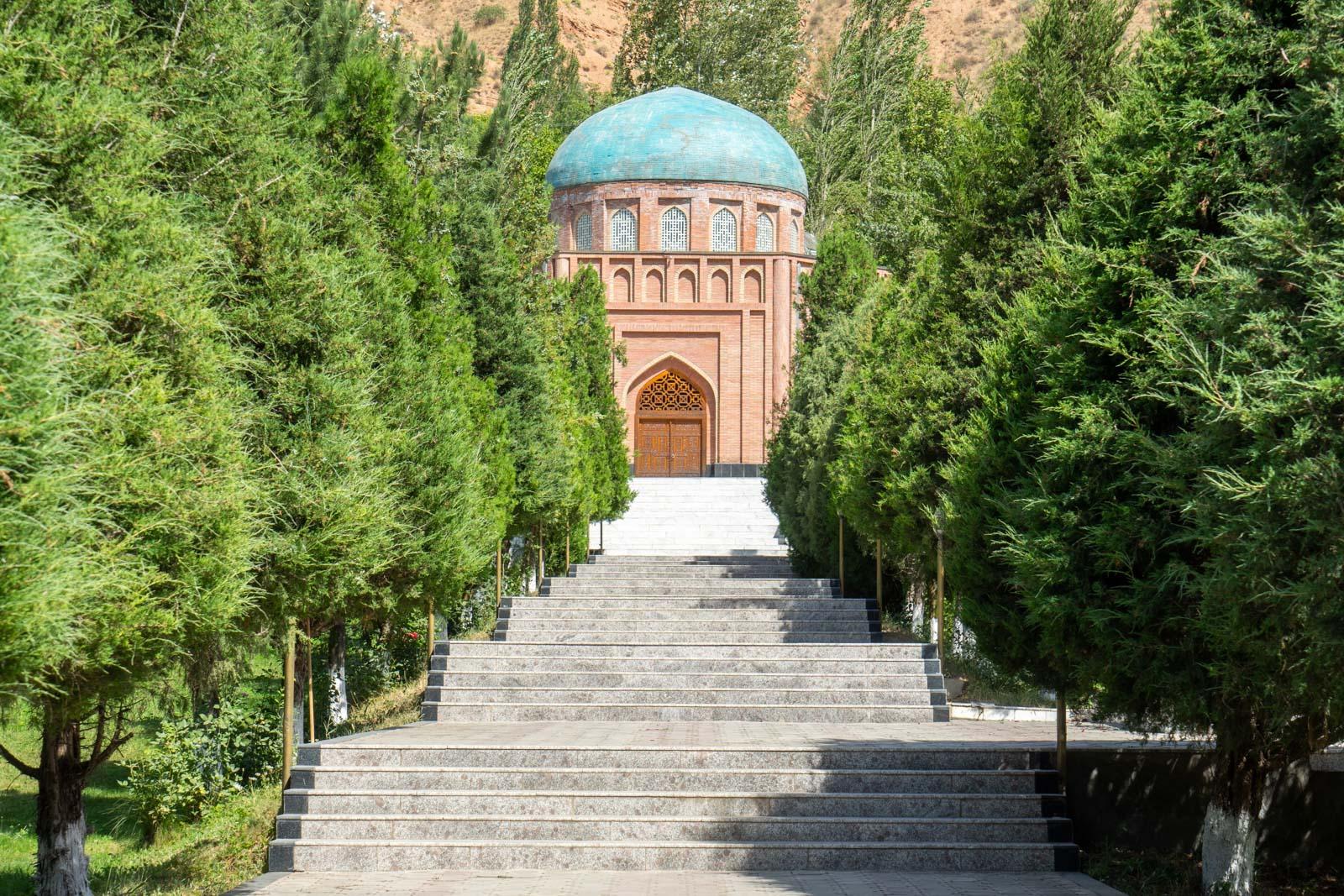 Rudaki Mausoleum, near Panjakent, Tajikistan